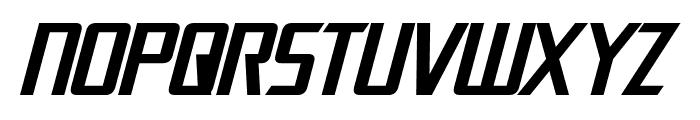 Dai-Atlas Italic Font UPPERCASE