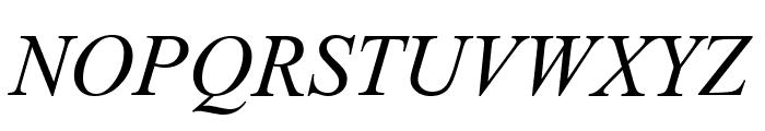 Dai Banna SIL Book Italic Font UPPERCASE