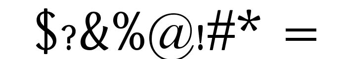 Dai Banna SIL Book Font OTHER CHARS
