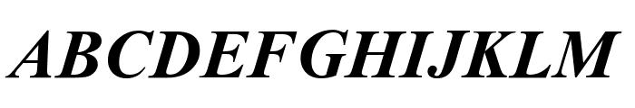 Dai Banna SIL Light Bold Italic Font UPPERCASE