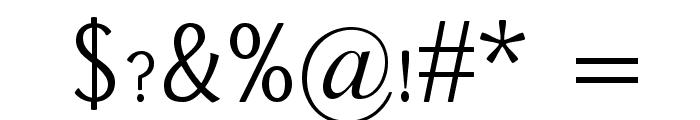 Dai Banna SIL Light Font OTHER CHARS