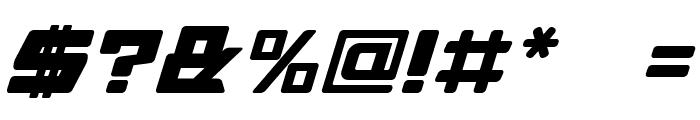 Daidoh Remix Round Ialic Font OTHER CHARS
