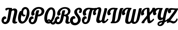 Daily Grind Font UPPERCASE