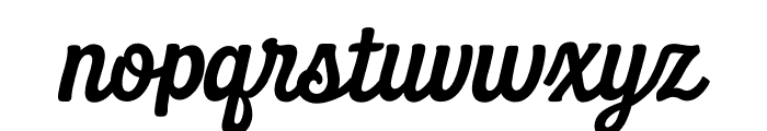 Daily Grind Font LOWERCASE