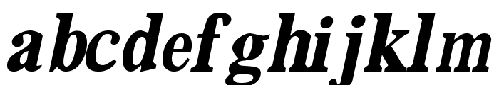 DailyPlanet BlackItalic Font LOWERCASE