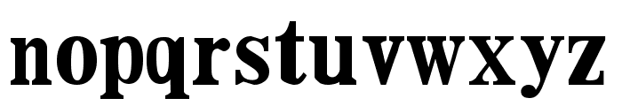DailyPlanet Black Font LOWERCASE