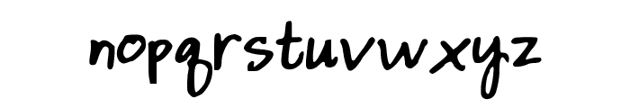 DaintyDaisies Font LOWERCASE