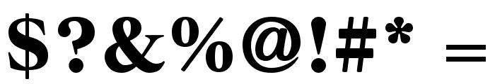 Dairantou Regular Font OTHER CHARS