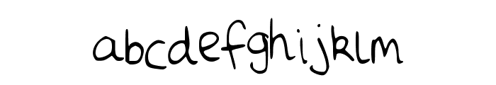 Daisies Font LOWERCASE