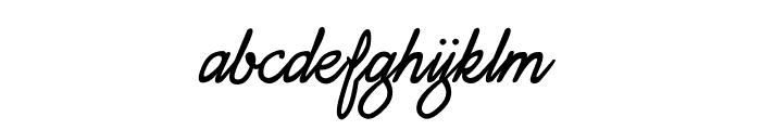 Daisy Script Font LOWERCASE