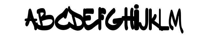 Dakinizazi Font UPPERCASE