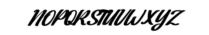 Dakota Artha Italic Font UPPERCASE