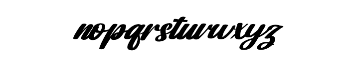 Dakota Artha Italic Font LOWERCASE