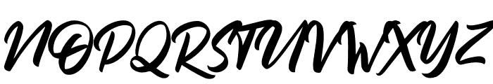 DakwartLetter Font UPPERCASE