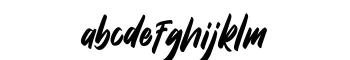 DakwartLetter Font LOWERCASE