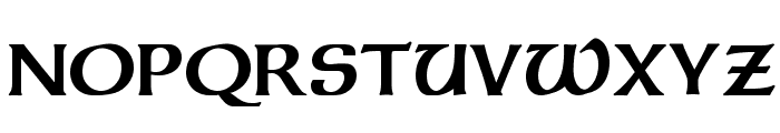 Dalelands Uncial Bold Font UPPERCASE