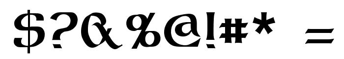 Dalelands Uncial Font OTHER CHARS
