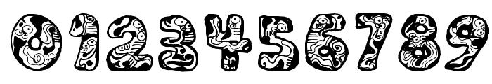 Dali Regular Font OTHER CHARS