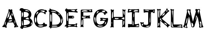 Dalmata Dream Bold Font UPPERCASE