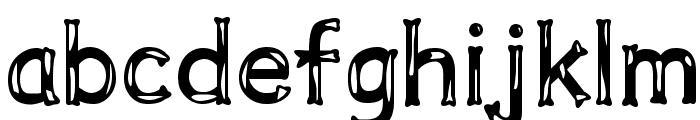Dalmata Dream Bold Font LOWERCASE