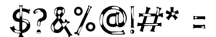 Dalmata Dream Font OTHER CHARS