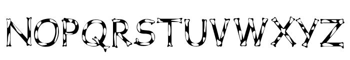 Dalmata Dream Font UPPERCASE