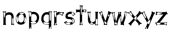 Dalmata Dream Font LOWERCASE