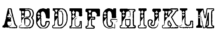 Dama Bubey Normal Font UPPERCASE