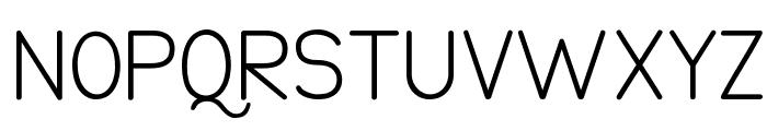 Damai Pelajar Normal Font UPPERCASE