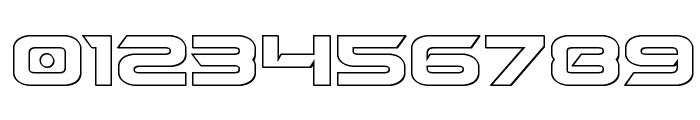Dameron Outline Font OTHER CHARS