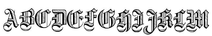 Dampfplatz DemiBold Font UPPERCASE