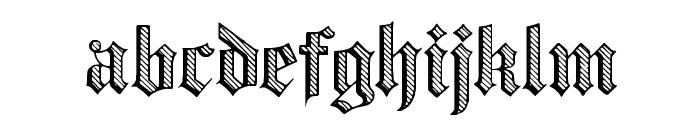 Dampfplatz DemiBold Font LOWERCASE