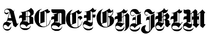Dampfplatz Solid Black Font UPPERCASE