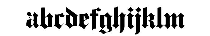 Dampfplatz Solid Black Font LOWERCASE