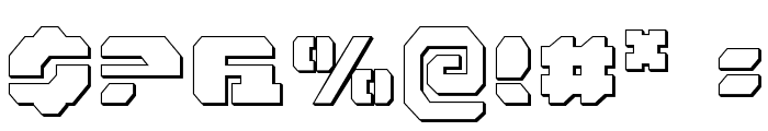 Dan Stargate Outline Font OTHER CHARS