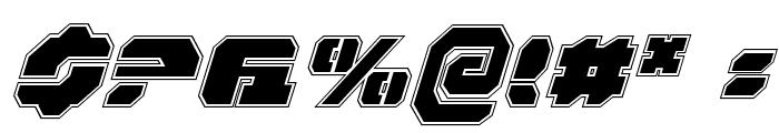 Dan Stargate Pro Italic Font OTHER CHARS