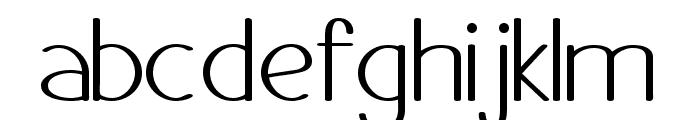 Danae Font LOWERCASE