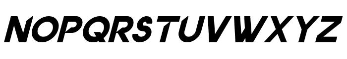Dancetech Italic Font LOWERCASE