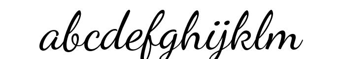 Dancing Script Font LOWERCASE