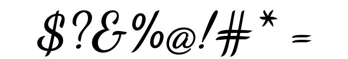 DancingScript-Bold Font OTHER CHARS
