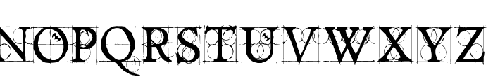DancingVampyrish Font LOWERCASE