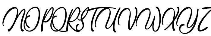 DancingintheBeat Font UPPERCASE