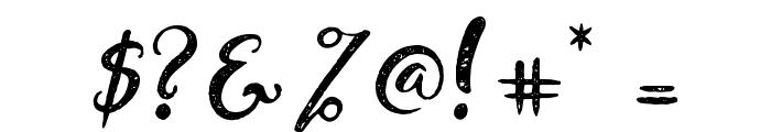 DandeleonVintageDemo Font OTHER CHARS
