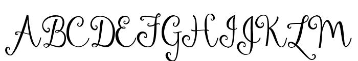 Dandelion Soup Font UPPERCASE