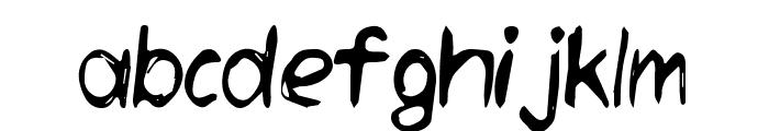 Daneehand Demo Font LOWERCASE