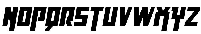 Danger Flight Italic Font UPPERCASE