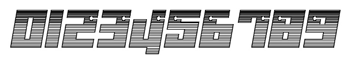 Dangerbot Chrome Font OTHER CHARS