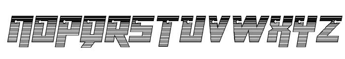 Dangerbot Chrome Font UPPERCASE