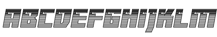 Dangerbot Chrome Font LOWERCASE