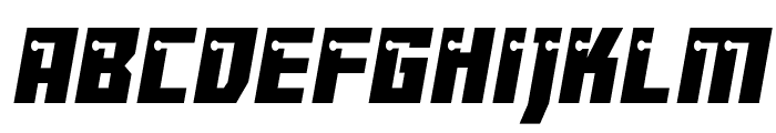 Dangerbot Condensed Condensed Font LOWERCASE